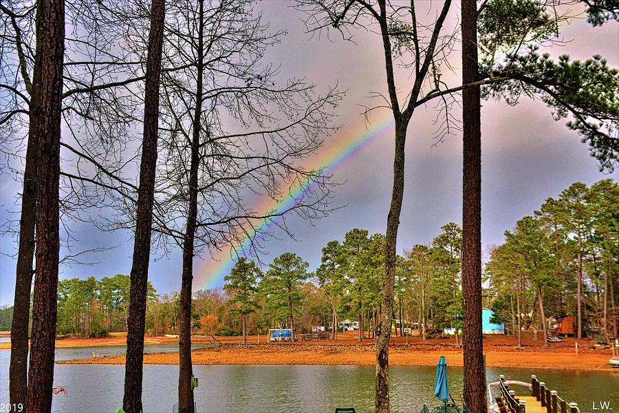 A Pot Of Gold On Lake Murray South Carolina by Lisa Wooten