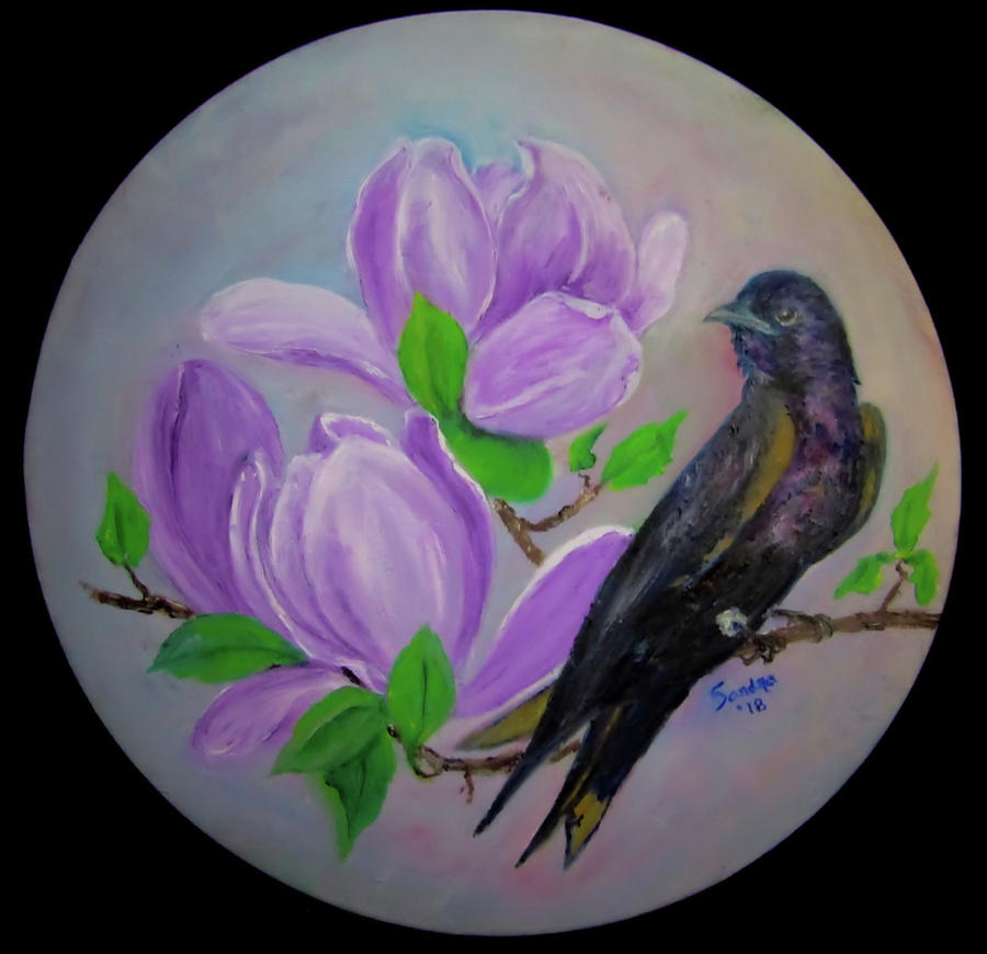A Purple Martin by Sandra Maddox
