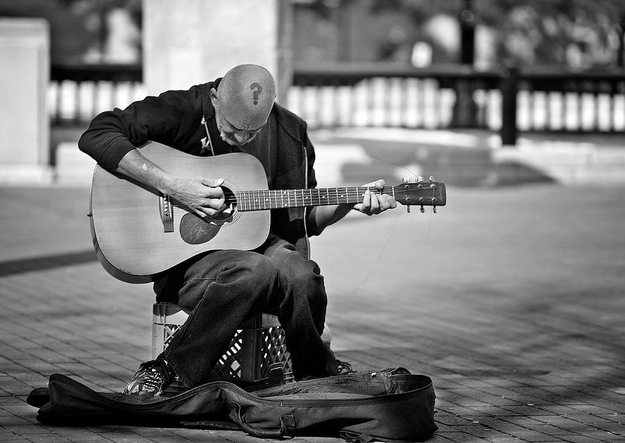 Street Photograph - A Questionable Mind ... by Verdon