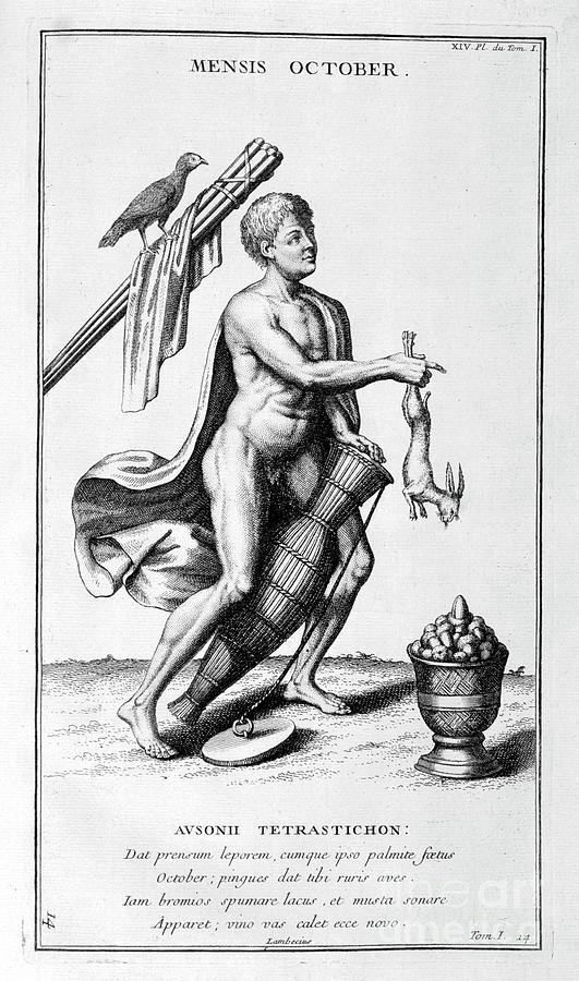A Representation Of October, 1757 Drawing by Print Collector