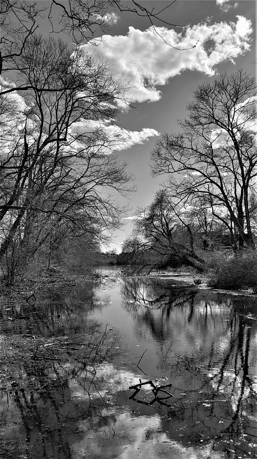 A RIVER VIEW 4 U 1 in B W by Rob Hans