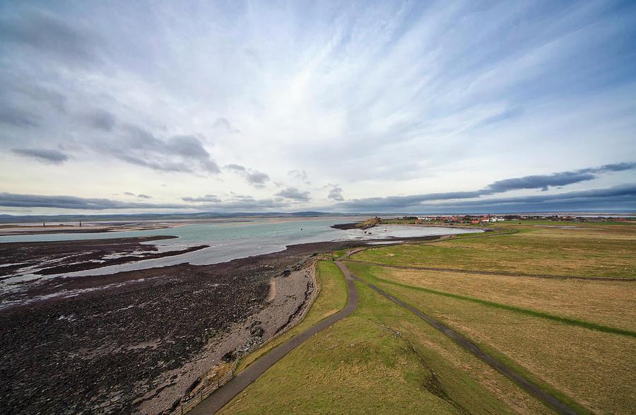 A Road Running Along The Coast Photograph by John Short / Design Pics