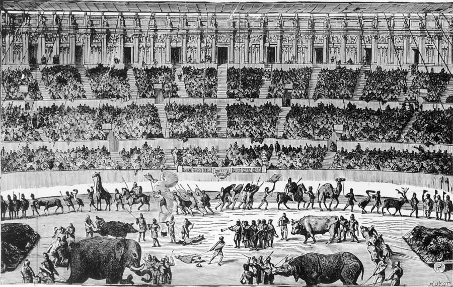 A Roman Circus Photograph by Hulton Archive