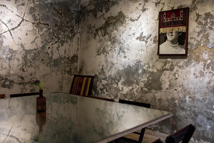 a room in Beit Kandinof, Jaffa by Dubi Roman
