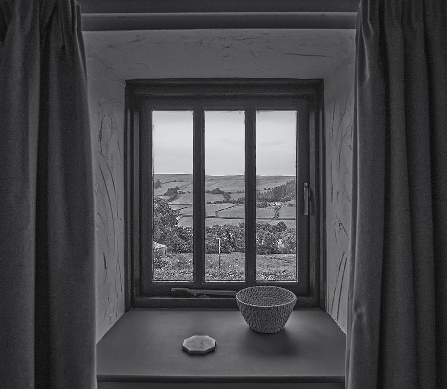 Window Photograph - A Room With A View by Pawel Majewski