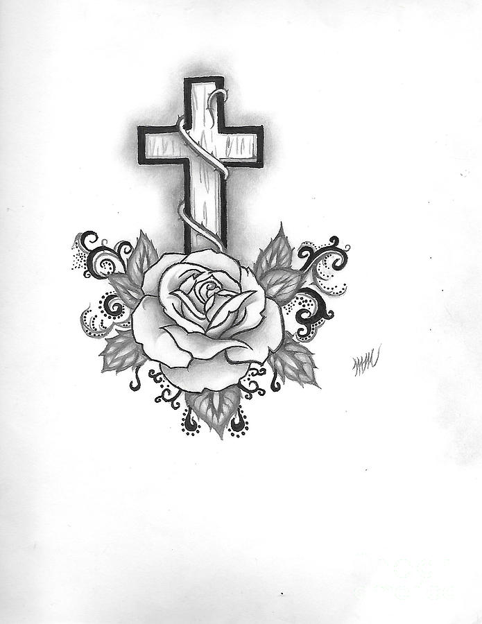A Rose and a Cross by Marissa McAlister