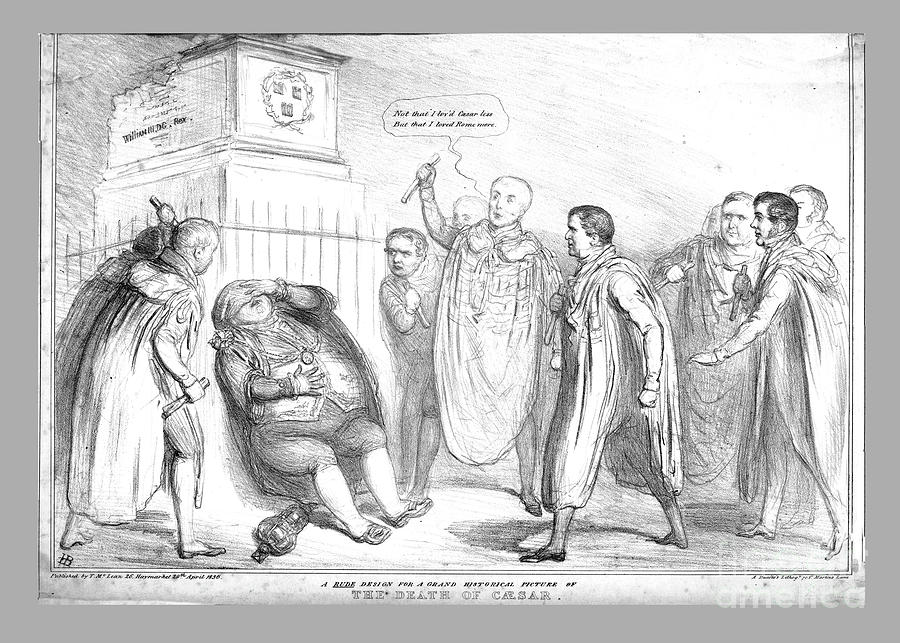 A Rude Design For A Grand Historical Drawing by Print Collector