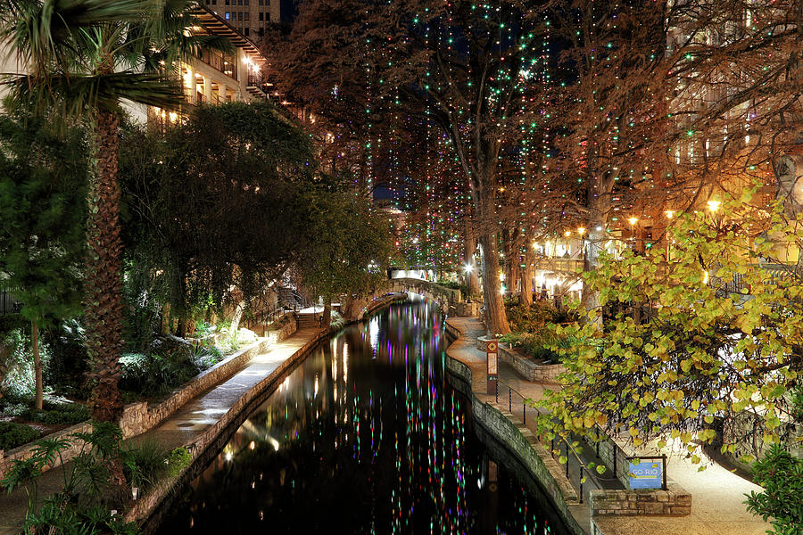 A San Antonio Christmas - Riverwalk - Texas by Jason Politte