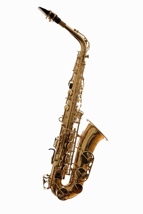 A Saxophone, Studio Shot Photograph by Halfdark