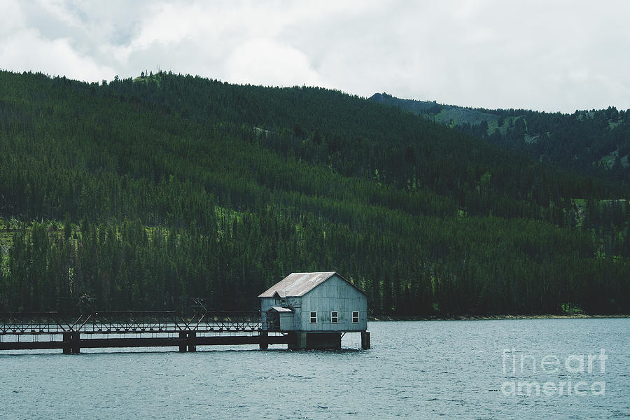 A Shack on the Water. Landscape Photo  by Stephen Geisel