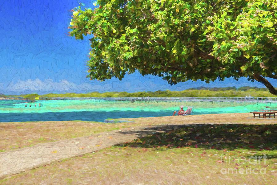 Beach Photograph - A Shady Spot Ignored by Sheila Smart Fine Art Photography