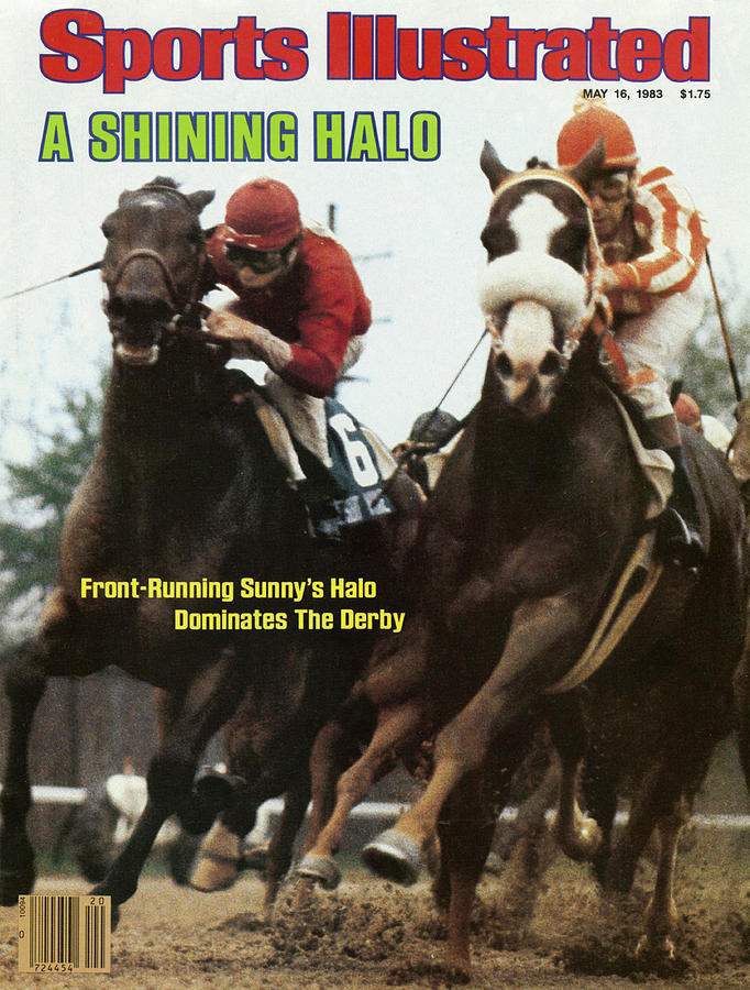 A Shining Halo Front-running Sunnys Halo Dominates The Derby Sports Illustrated Cover Photograph by Sports Illustrated