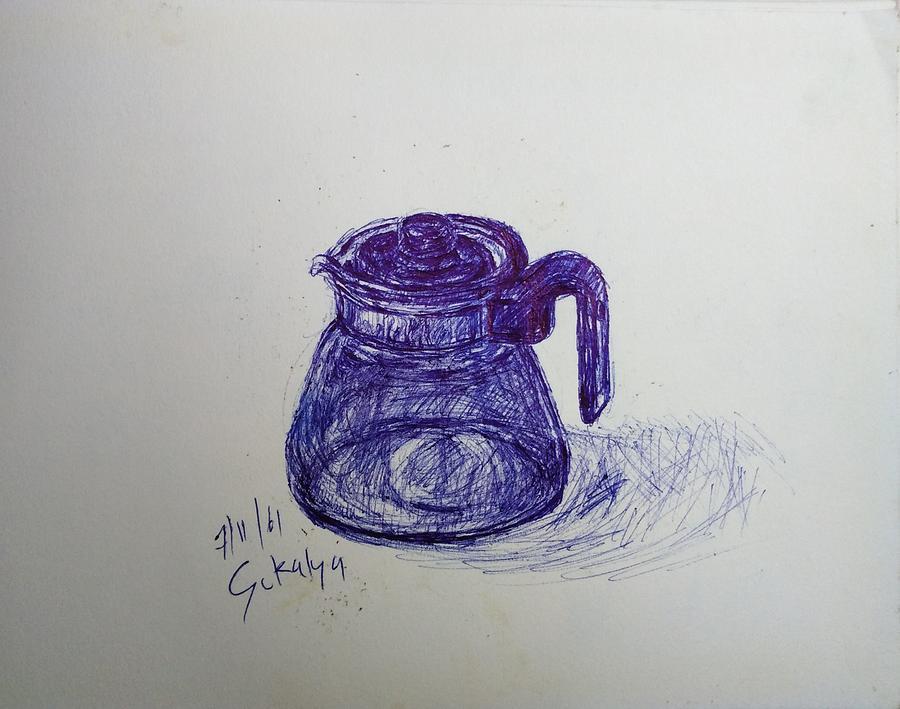 A sketching by Sukalya Chearanantana