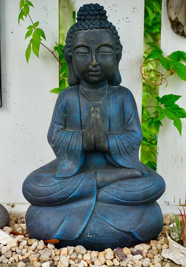 A Statue of the Buddha by Patricia Greer