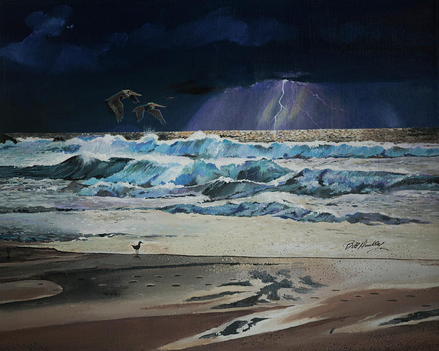 A Storm is Coming by Bill Dunkley