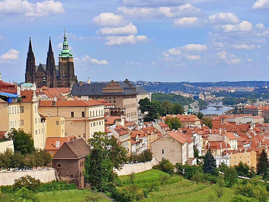A Summer Day in Prague by Andrea Whitaker
