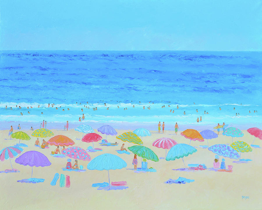A Sweltering Beach Day by Jan Matson