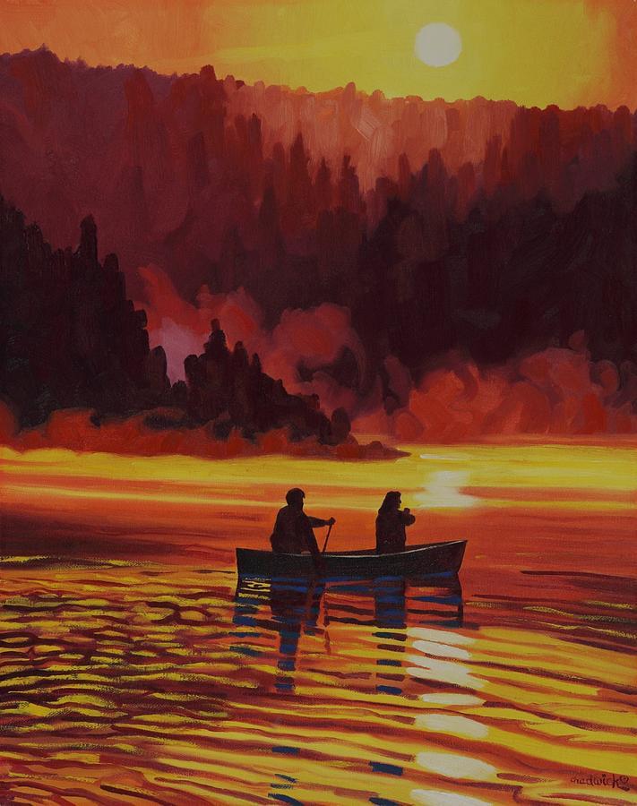 A Swift Sunrise by Phil Chadwick