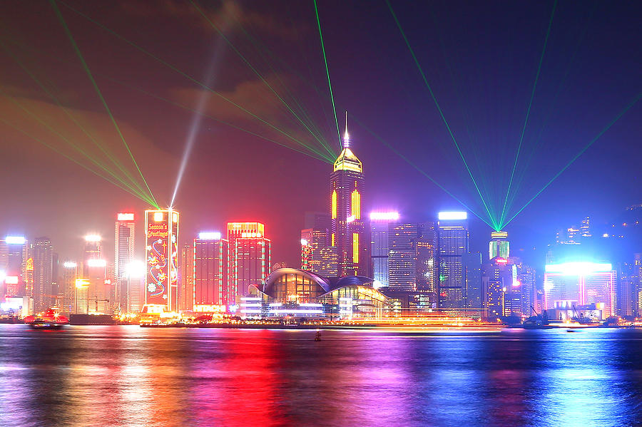 A Symphony Of Lights Photograph by Liu Wai Yip Even