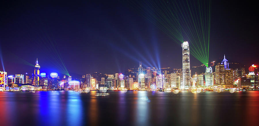 A Symphony Of Lights Photograph by Mendowong Photography
