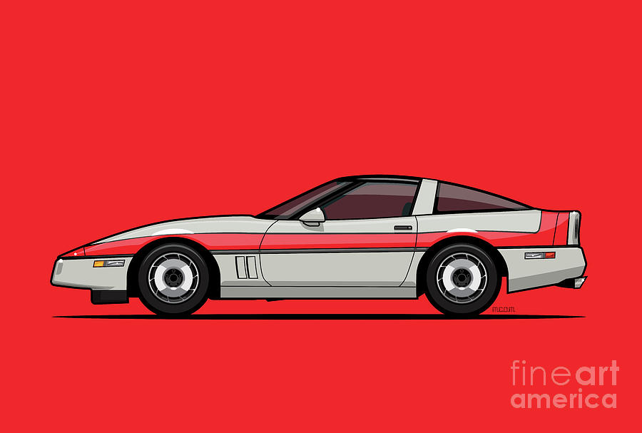A-Team Faceman's 1984 C4 Ve77e by Monkey Crisis On Mars