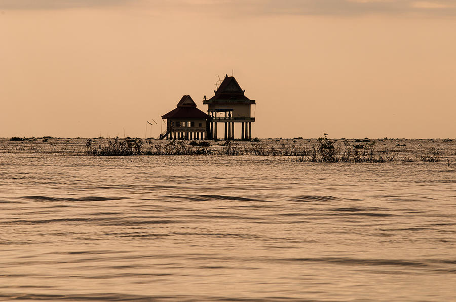 A Temple On The Water Photograph by Matt Davies Noseyfly@yahoo.com