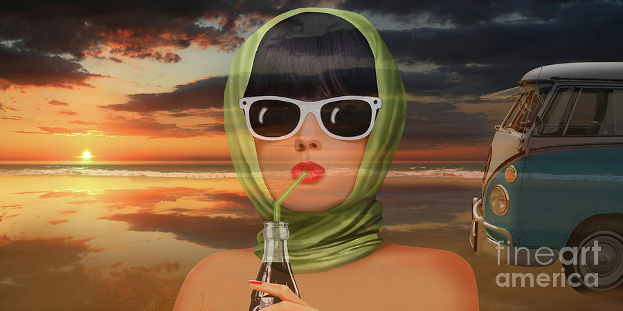 A touch of summer from the 60s by Monika Juengling