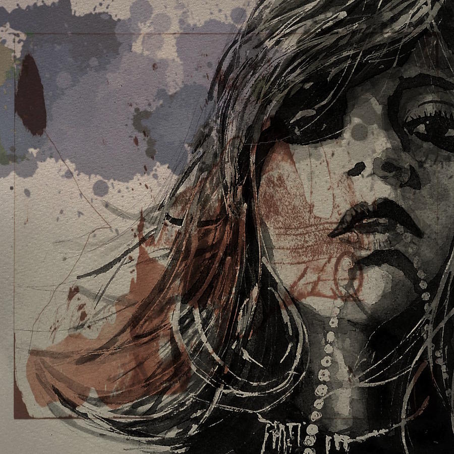Girl Painting - A Trace Of Pleasure Or Regret by Paul Lovering