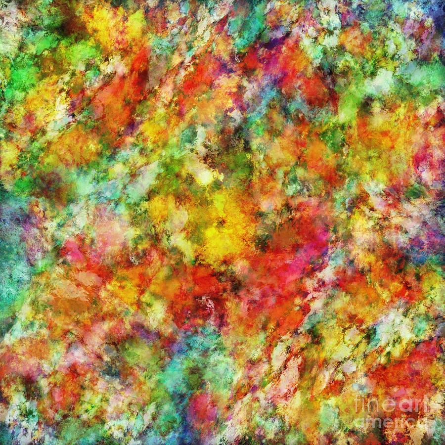 Colourful Digital Art - A Trick Of The Light by Keith Mills