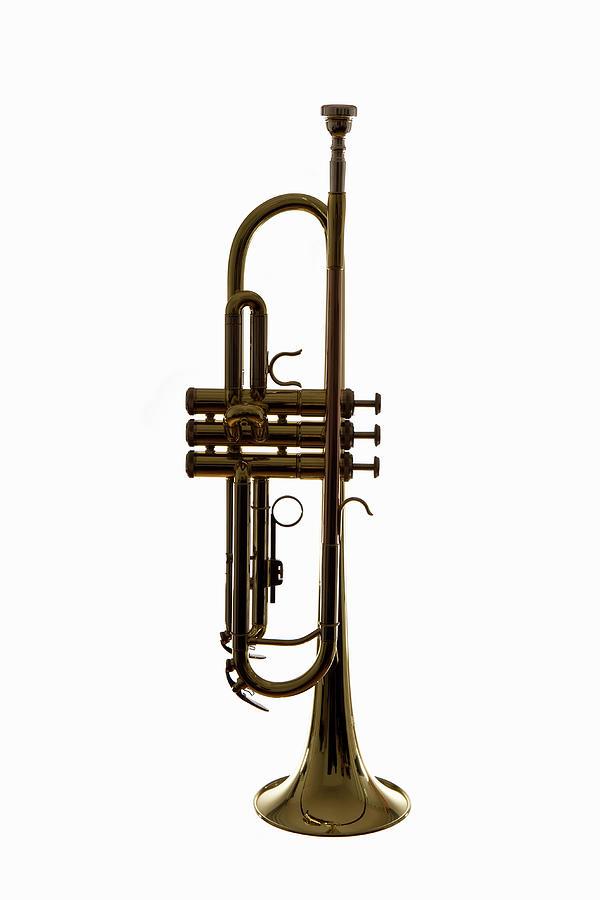 A Trumpet, Studio Shot Photograph by Halfdark