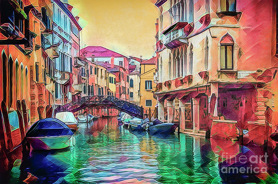 A Venetian Kaleidoscope. by Brian Tarr