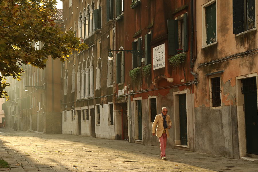 A Venetian Stroll by Mary Buck