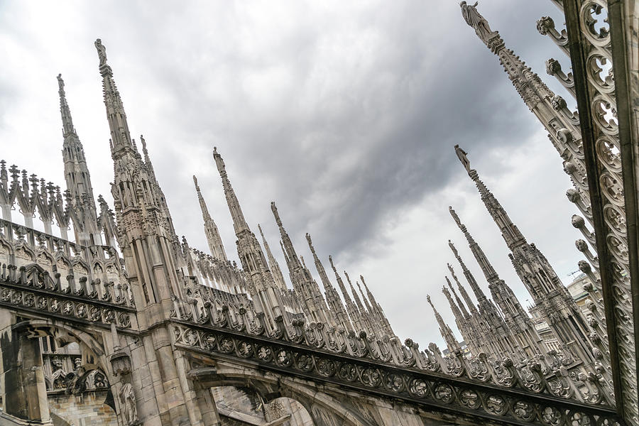 A Veritable Forest of Svelte Graceful Spires - Milans Cathedral Duomo di Milano by Georgia Mizuleva