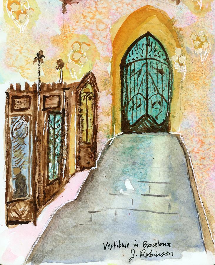 A Vestibule in Barcelona by Judy Robinson