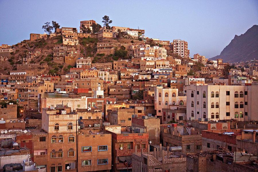 A View From The Hotel - Taizz Photograph by Www.maciejstangreciak.co.uk Maciejstan@gmail.com