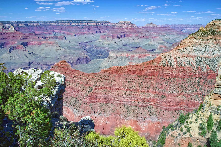 A View from the South Rim - Grand Canyon Arizona USA by Tony Crehan