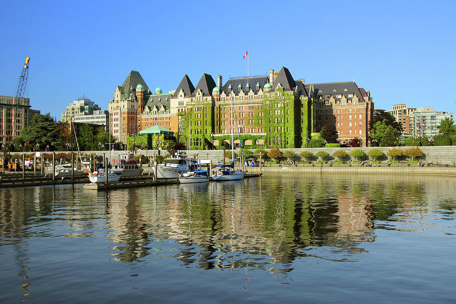 A View Of A Castle In Victoria, British Photograph by Emilynorton