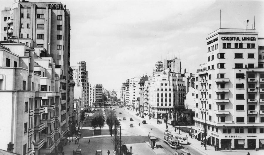 A View Of Bucharest Photograph by Hulton Archive