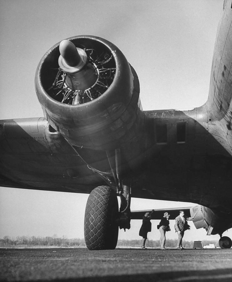 A View Of Reversible Propellers In Actio Photograph by Andreas Feininger