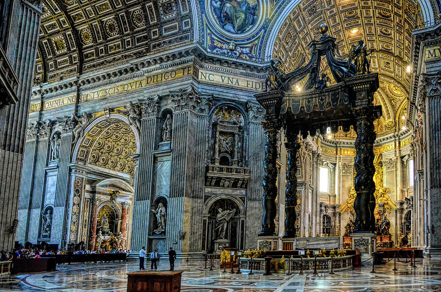 A View Of St. Peter's by PAUL COCO