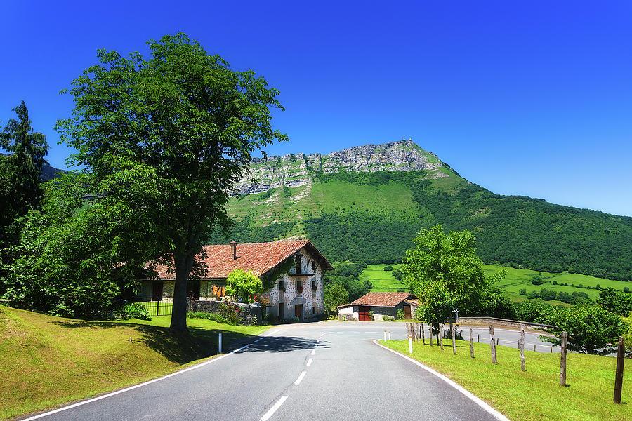 A view of Txarlazo mountain by Mikel Martinez de Osaba