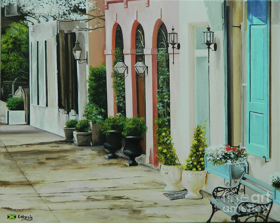 A Visit To Charleston by Kenneth Harris
