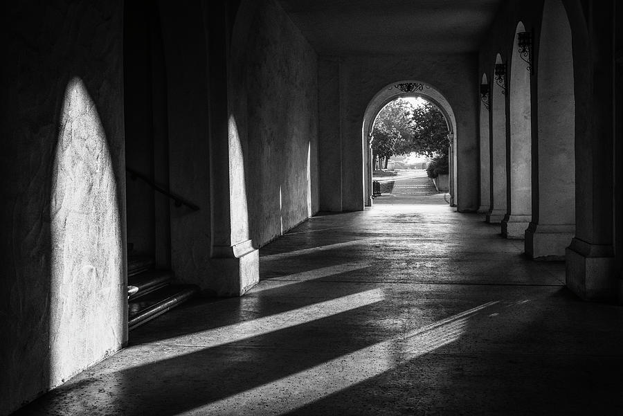 Balboa Park Photograph - A Walk Among Shadow And Light by Joseph S Giacalone