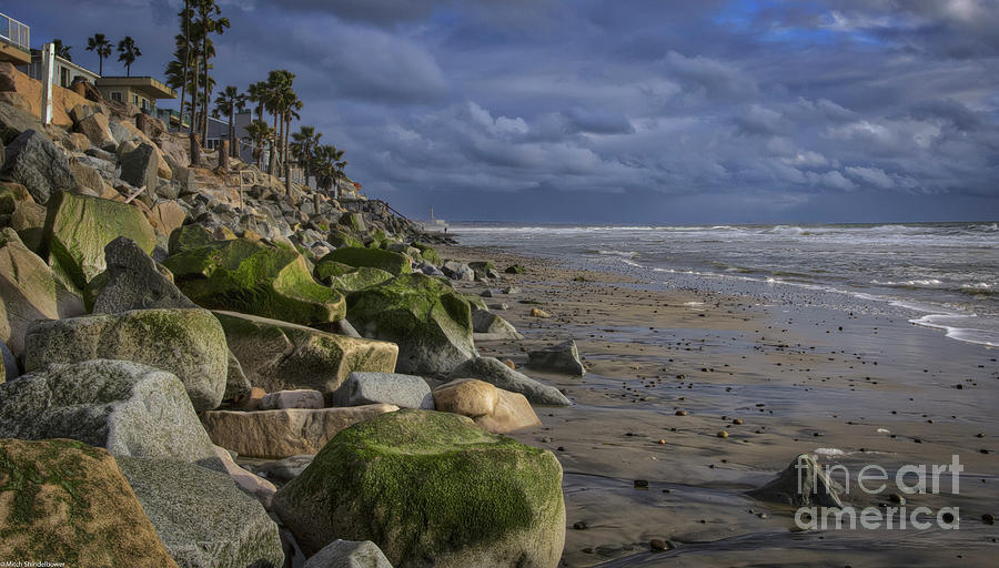 A Walk On The Beach by Mitch Shindelbower