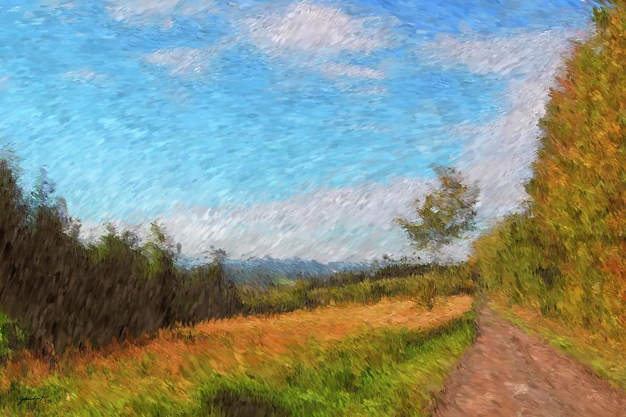 A Walk through the Countryside by Gerlinde Keating - Galleria GK Keating Associates Inc