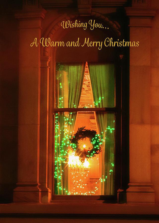 A Warm Christmas Window by Bonnie Follett