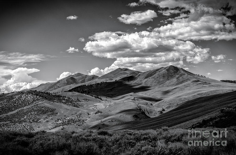 A White Mountain Day Photograph