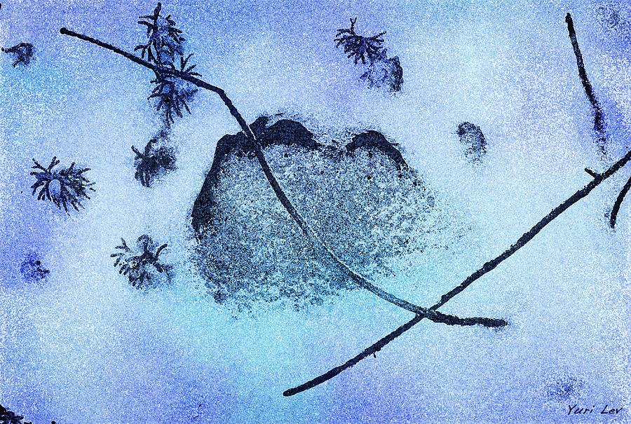 A Winter Haiku Mixed Media