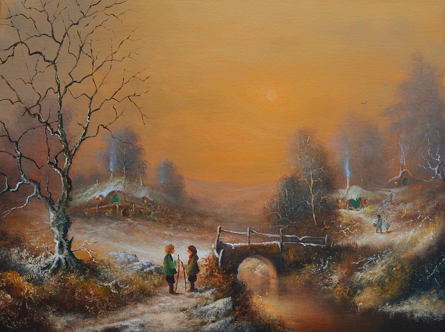 A Winters Tale snow arrives in the Shire by Joe Gilronan
