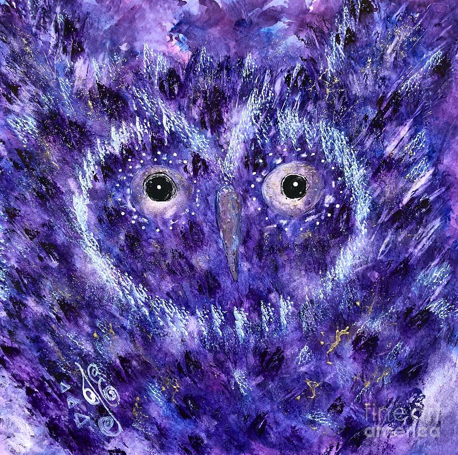 A Wise Owl by Julie Engelhardt